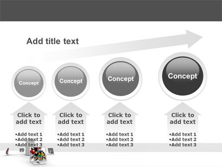 Social Web PowerPoint Template Slide 13