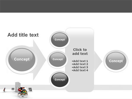 Social Web PowerPoint Template Slide 17