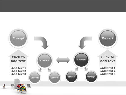 Social Web PowerPoint Template Slide 19