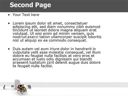 Social Web PowerPoint Template Slide 2
