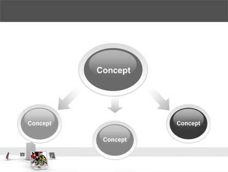 Social Web PowerPoint Template Slide 4