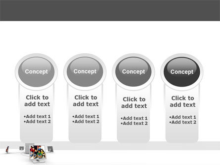 Social Web PowerPoint Template Slide 5
