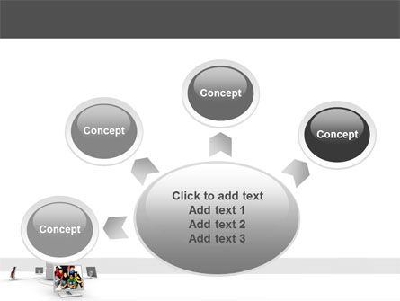 Social Web PowerPoint Template Slide 7