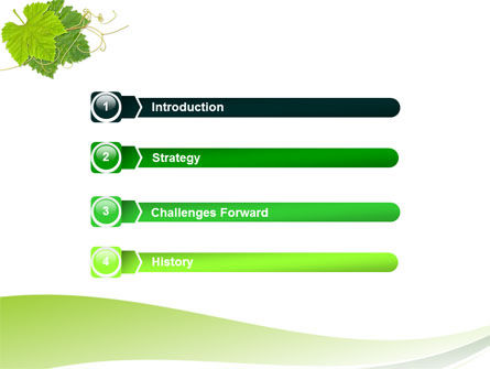 Vine PowerPoint Template Slide 3