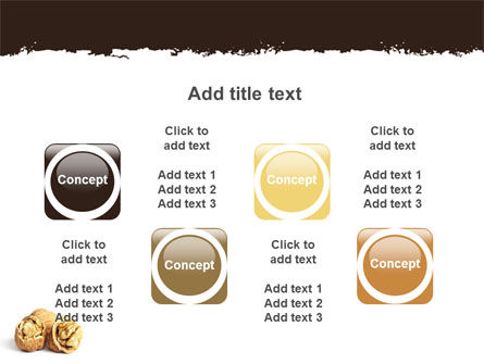 Walnut PowerPoint Template Slide 18