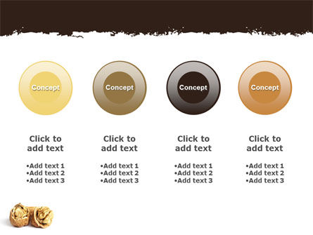 Walnut PowerPoint Template Slide 5