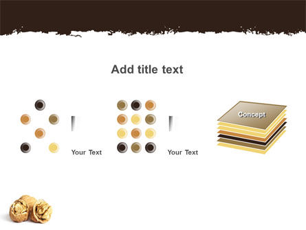Walnut PowerPoint Template Slide 9