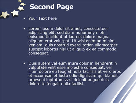 Stars Of European Union PowerPoint Template Slide 2