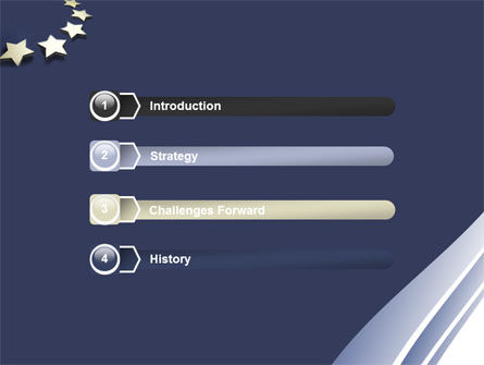 stars of european union powerpoint template, backgrounds | 05523, Modern powerpoint