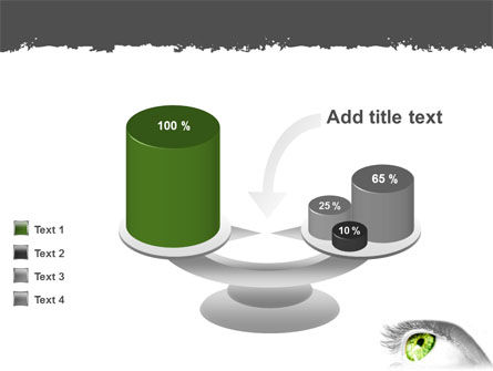 Green Eye PowerPoint Template Slide 10