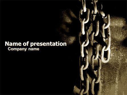Chains PowerPoint Template, 05527, Utilities/Industrial — PoweredTemplate.com