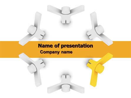 Consulting: Support Group PowerPoint Template #05528