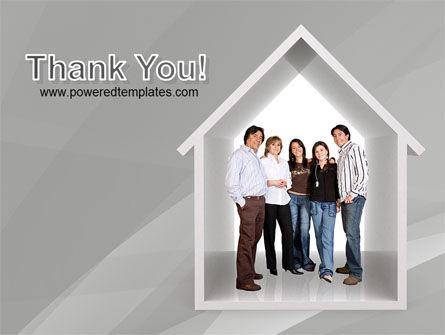 House For Family PowerPoint Template Slide 20