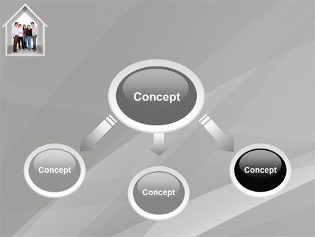 House For Family PowerPoint Template Slide 4