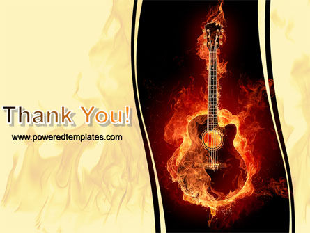 Jazz Guitar PowerPoint Template Slide 20