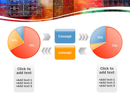 Wall Art PowerPoint Template Slide 11