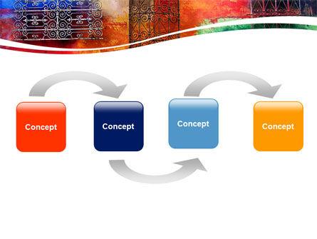 Wall Art PowerPoint Template, Slide 4, 05538, Art & Entertainment — PoweredTemplate.com