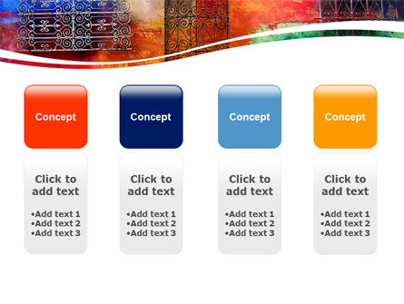 Wall Art PowerPoint Template Slide 5