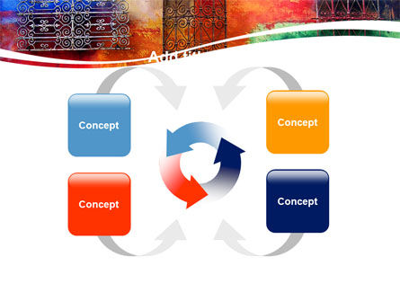 Wall Art PowerPoint Template Slide 6