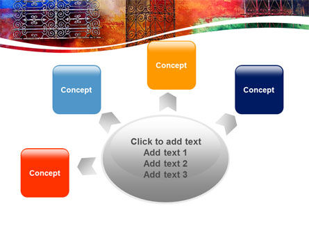 Wall Art PowerPoint Template Slide 7