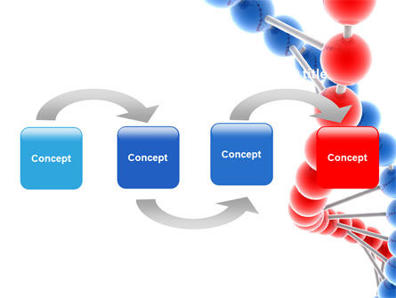 Structure Genome PowerPoint Template, Slide 4, 05540, Medical — PoweredTemplate.com