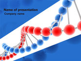 Medical: Structure Genome PowerPoint Template #05540