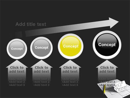 House Draft PowerPoint Template Slide 13