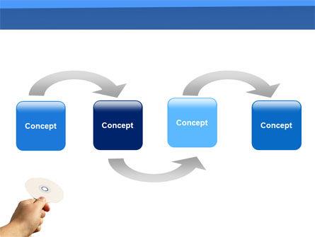 Data CD PowerPoint Template Slide 4
