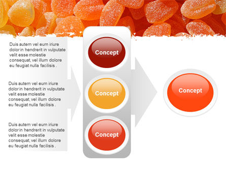 Free Fruit Jelly PowerPoint Template Slide 11