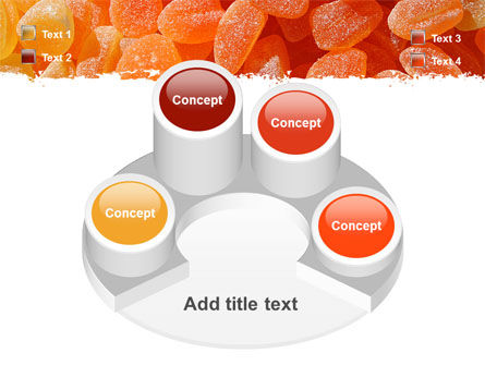 Fruit Jelly Free PowerPoint Template Slide 12