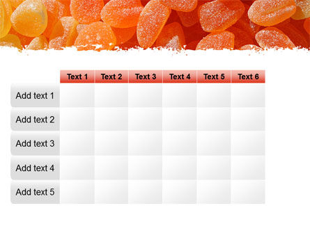 Free Fruit Jelly PowerPoint Template Slide 15