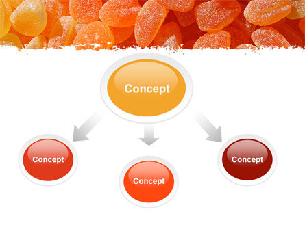 Fruit Jelly Free PowerPoint Template, Slide 4, 05543, Food & Beverage — PoweredTemplate.com
