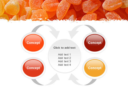 Free Fruit Jelly PowerPoint Template Slide 6