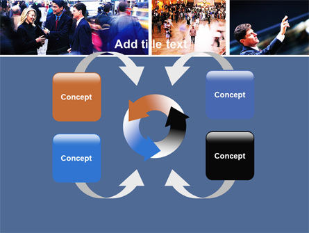 Movement In Business Center PowerPoint Template Slide 6