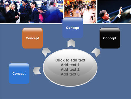 Movement In Business Center PowerPoint Template Slide 7