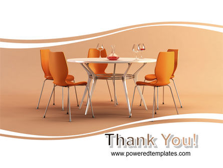 Dining Room Free PowerPoint Template Slide 20