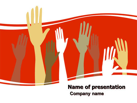 Vote For Success PowerPoint Template