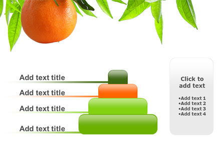 Orange Tree PowerPoint Template Slide 8