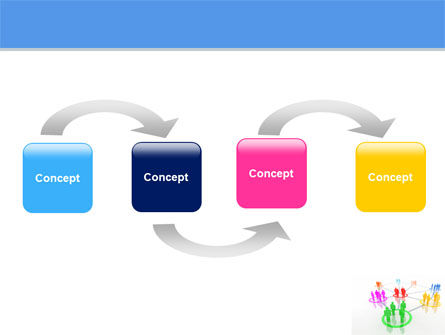 Social Network Communication PowerPoint Template Slide 4