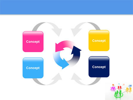 Social Network Communication PowerPoint Template Slide 6