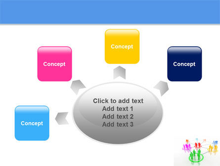 Social Network Communication PowerPoint Template Slide 7