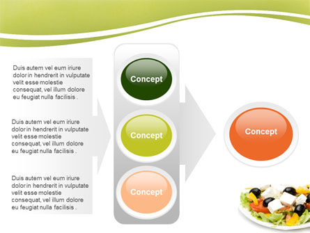 Greek Salad PowerPoint Template Slide 11
