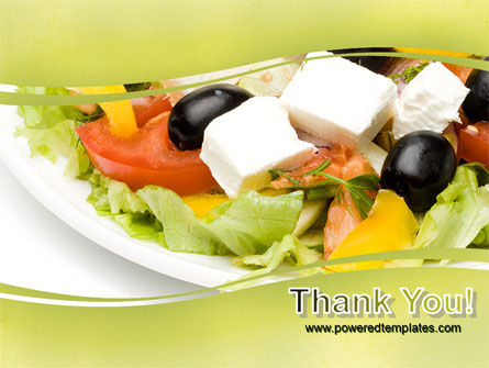 Greek Salad PowerPoint Template Slide 20