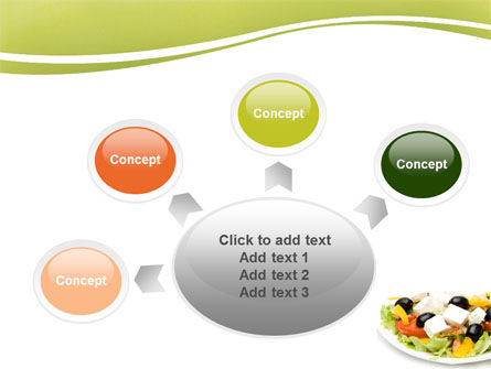 Greek Salad PowerPoint Template Slide 7
