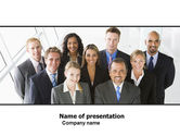 Business: Business Personnel PowerPoint Template #05550