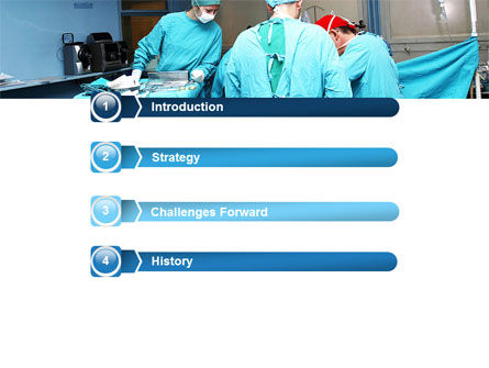 Procedure In Operating Room PowerPoint Template Slide 3