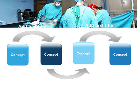 Procedure In Operating Room PowerPoint Template, Slide 4, 05552, Medical — PoweredTemplate.com