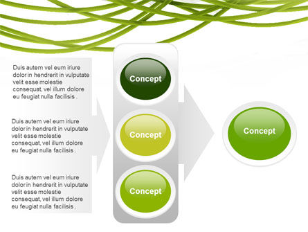 Green Fibers PowerPoint Template Slide 11