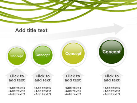 Green Fibers PowerPoint Template Slide 13