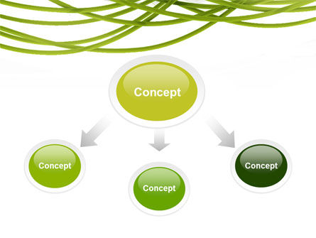Green Fibers PowerPoint Template Slide 4